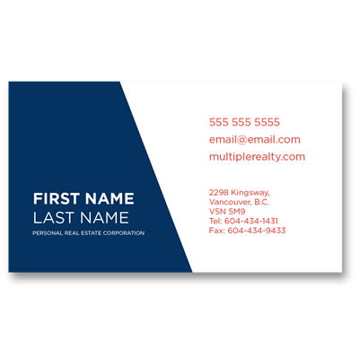 Business Card 02 - Vancouver